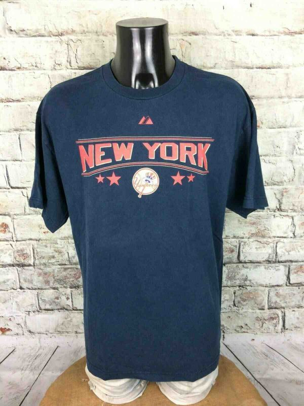 NEW YORK YANKEES T-Shirt Majestic 1923 2009 - Gabba Vintage (2)