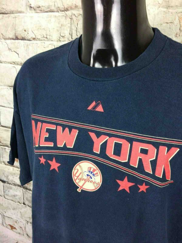 NEW YORK YANKEES T Shirt Majestic 1923 2009 Gabba Vintage 3 - NEW YORK YANKEES T-Shirt Majestic 1923 2009