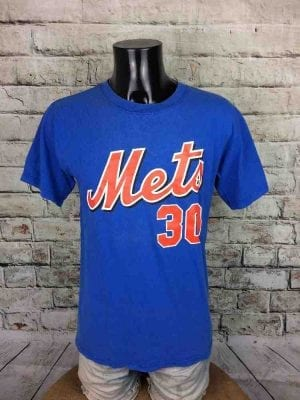 NEW YORK METS T-Shirt Majestic#30 Floyd MLB - Gabba Vintage