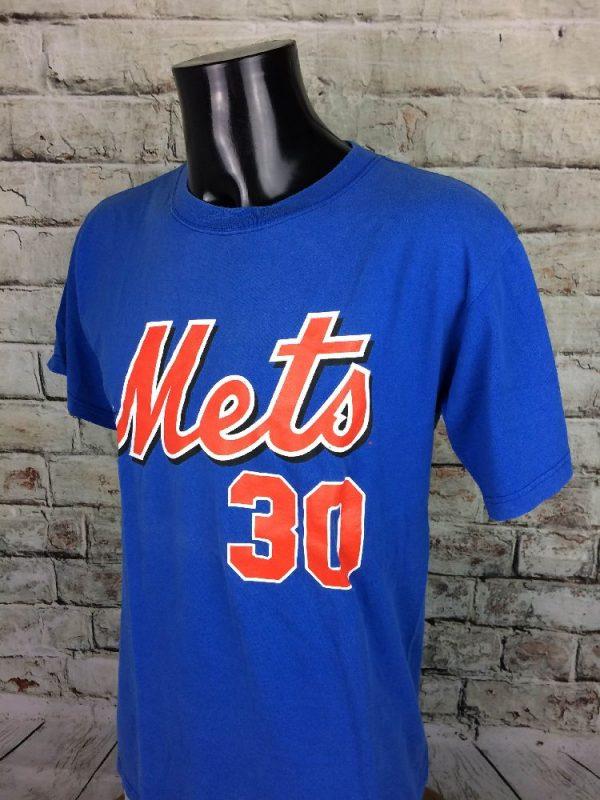 NEW YORKS METS T Shirt Majestic30 Floyd MLB Gabba Vintage 3 - NEW YORK METS T-Shirt Majestic#30 Floyd MLB