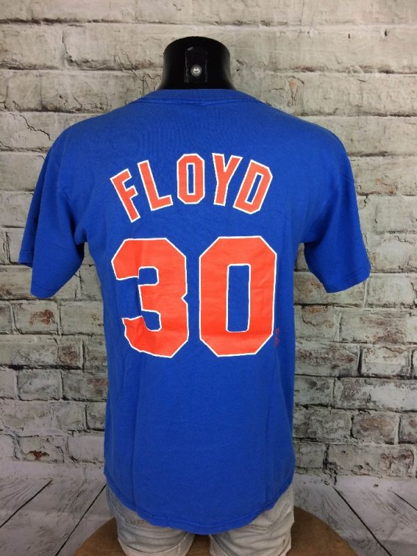 NEW YORKS METS T Shirt Majestic30 Floyd MLB Gabba Vintage 4 - NEW YORK METS T-Shirt Majestic#30 Floyd MLB