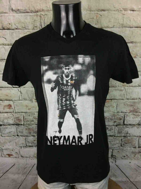 NEYMAR Jr T-Shirt FCB Official Barcelona CBF - Gabba Vintage (1)