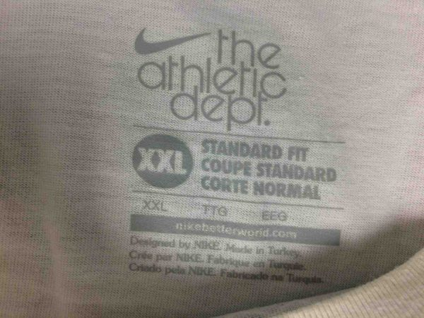 NIKE T Shirt Ath Dpt Athletic Department Foot Gabba.. 4 - NIKE T-Shirt Ath Dpt Athletic Department Foot