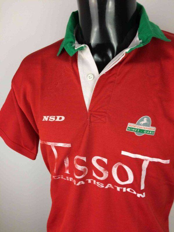 NIMES Maillot Vintage 90s Made in France Gabba Vintage 3 - NIMES Maillot Vintage 90s Made in France
