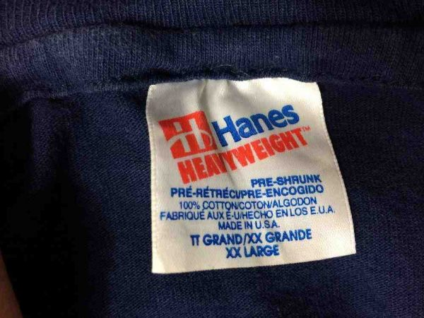 NOTRE DAME T Shirt Vintage Made In USA Hanes Gabba Vintage 1 rotated - NOTRE DAME T-Shirt Vintage Made In USA Hanes