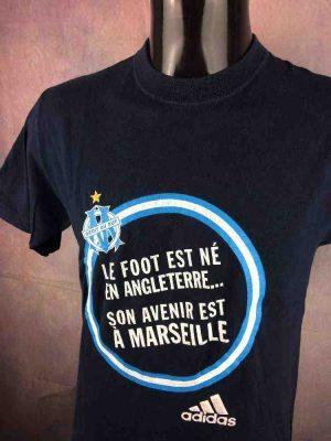 MarseilleT-Shirt Adidas OM Jeunesse Vintage
