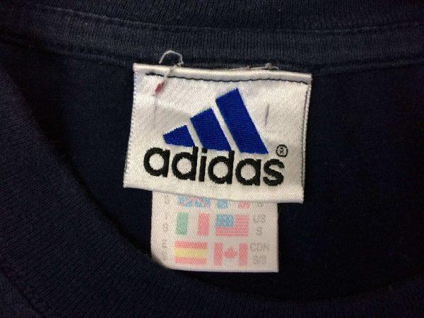 OM T Shirt Adidas Marseille Jeunesse Vintage 00s 3 rotated - Marseille T-Shirt Adidas OM Jeunesse Vintage