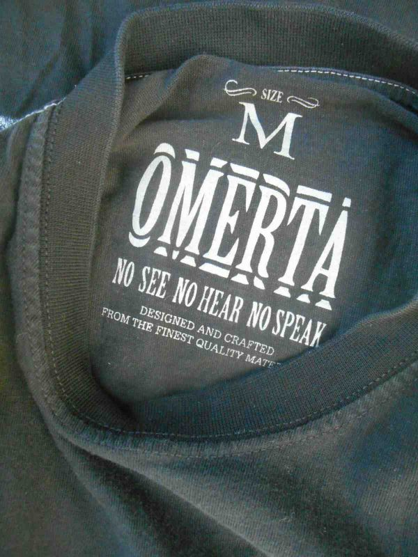 OMERTA T Shirt Are You Ready For Thug Life Gabba Vintage 4 - OMERTA T-Shirt Are You Ready For Thug Life