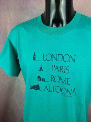 ONEITA T-Shirt Made in USA Vintage 1988 80s - Gabba Vintage (1)