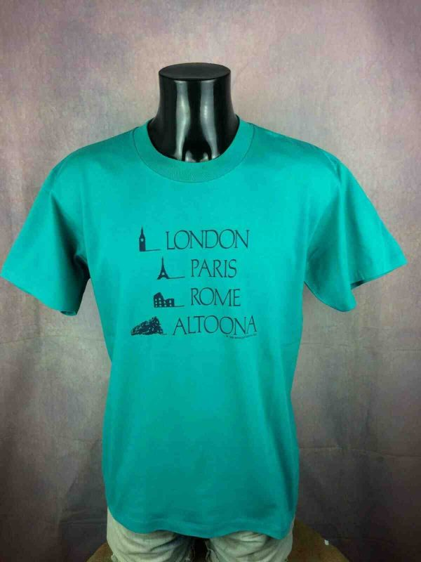 ONEITA T Shirt Made in USA Vintage 1988 80s Gabba Vintage 2 - ONEITA T-Shirt Made in USA Vintage 1988 80s