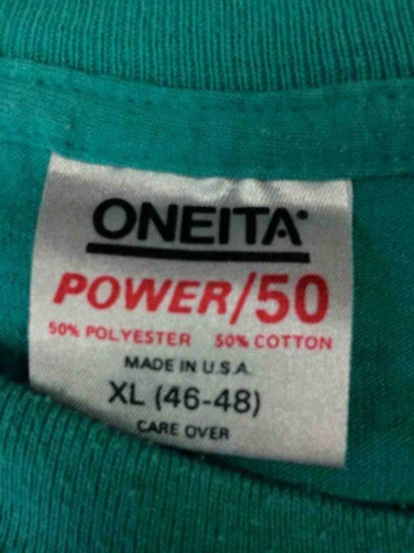 ONEITA T Shirt Made in USA Vintage 1988 80s Gabba Vintage 4 - ONEITA T-Shirt Made in USA Vintage 1988 80s
