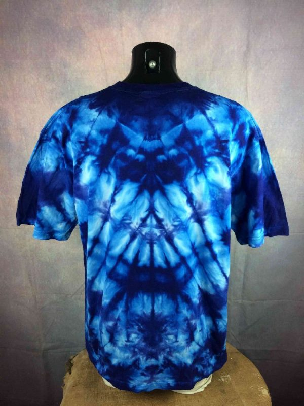 PLANET EARTH T Shirt Vintage 00s Wolf Tie Dye Gabba.. 3 - PLANET EARTH T-Shirt Vintage 00s Wolf Tie Dye