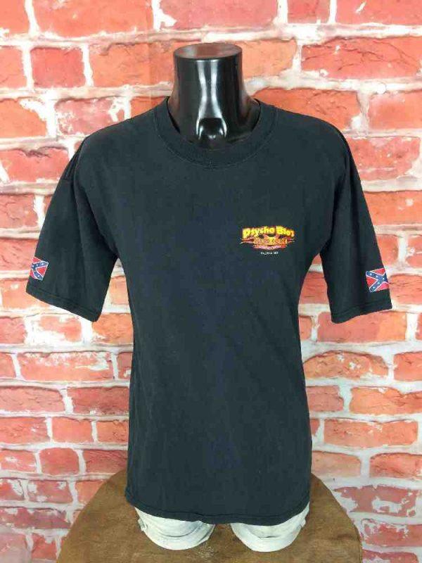 PSYCHO BROS HARDCORE CUSTOMS T Shirt Vintage Gabba Vintage 2 - PSYCHO BROS HARDCORE CUSTOMS T-Shirt Vintage