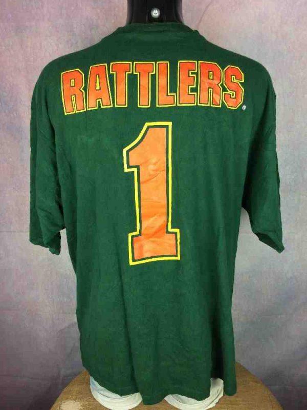 RATTLERS T Shirt Vintage 90s Florida Snake Gabba Vintage 1 - RATTLERS T-Shirt Vintage 90s Florida Snake