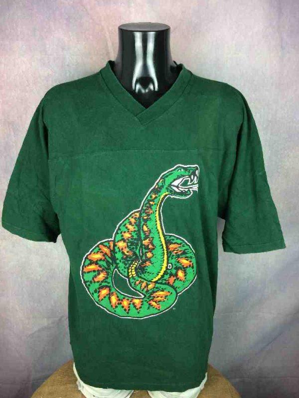 RATTLERS T Shirt Vintage 90s Florida Snake Gabba Vintage 2 - RATTLERS T-Shirt Vintage 90s Florida Snake