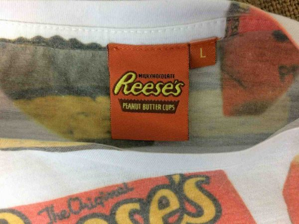 REESES T Shirt Official Peanut Butter Cups Gabba Vintage 3 - REESE T-Shirt Official Peanut Butter Cups 00s