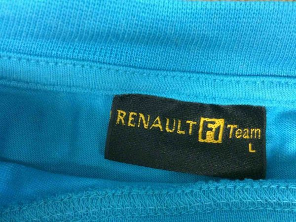 RENAULT F1 TEAM T Shirt Official 2005 FIA Gabba Vintage 3 - RENAULT F1 TEAM T-Shirt Official 2005 FIA