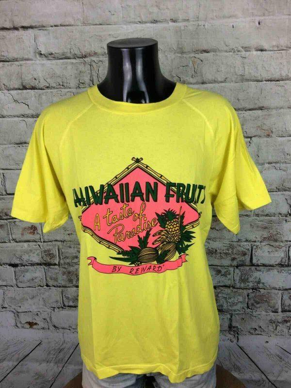 REWARD T-Shirt Hawaiian Fruits Vintage 90s - Gabba Vintage
