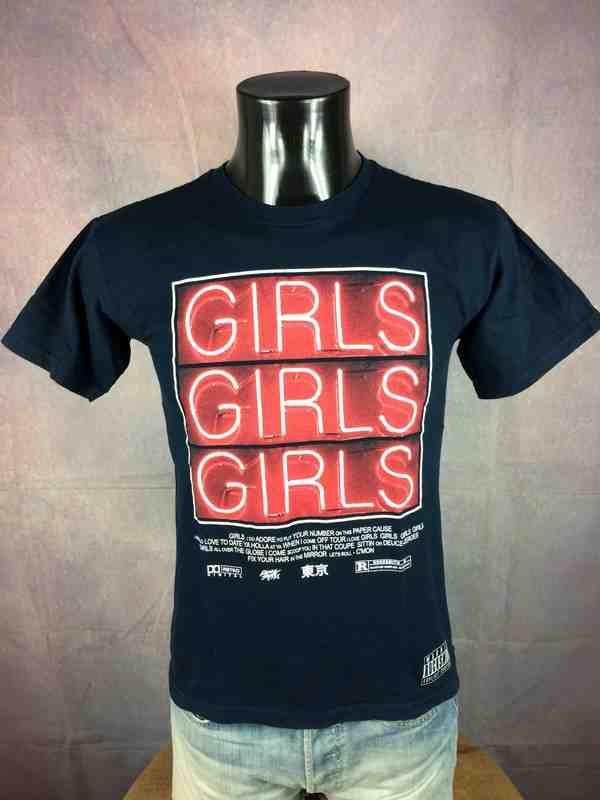 ROCKSMITH T Shirt Girls Made In Usa Neon Gabba Vintage 3 - ROCKSMITH T-Shirt Girls Made In Usa Neon