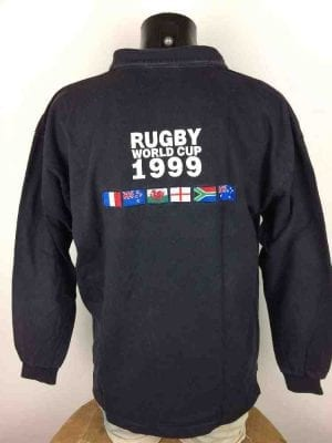 RUGBY WORLD CUP 1999 Maillot Vintage 90s IRB - Gabba Vintage