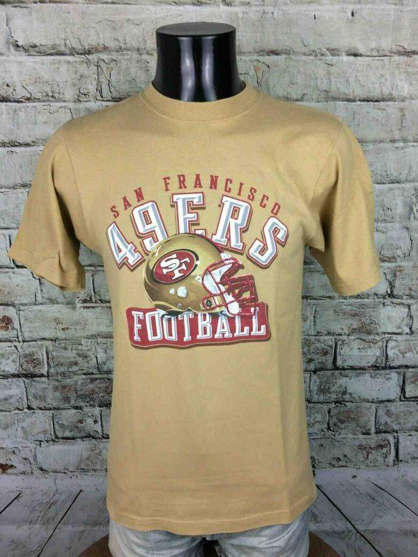SAN FRANCISCO 49ers T Shirt Reebok Vintage Gabba Vintage 1 - SAN FRANCISCO 49ers T-Shirt Reebok Vintage
