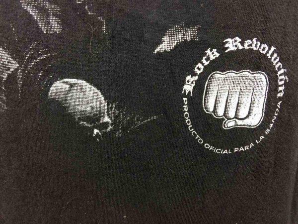 SANTA MUERTE T Shirt Rock Revolution Death Gabba Vintage 1 - SANTA MUERTE T-Shirt Rock Revolucion Death