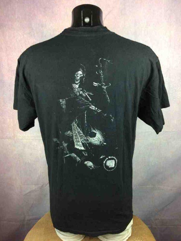 SANTA MUERTE T Shirt Rock Revolution Death Gabba Vintage 4 - SANTA MUERTE T-Shirt Rock Revolucion Death