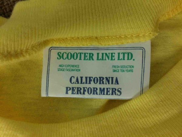SCOOTER LINE T Shirt Vintage 90s California Gabba Vintage 4 - SCOOTER LINE T-Shirt Vintage 90s California