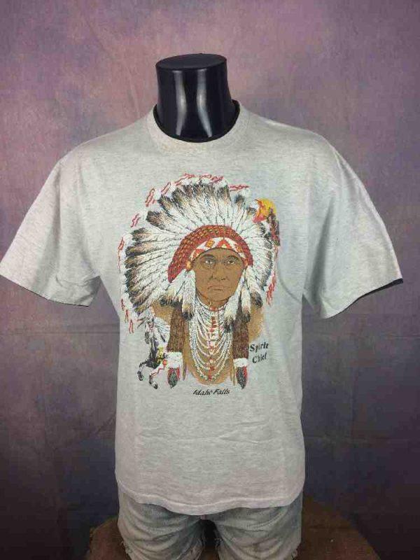SPIRIT CHIEF T Shirt Vintage 90s Belton USA Gabba Vintage 2 - SPIRIT CHIEF T-Shirt Vintage 90s Belton USA