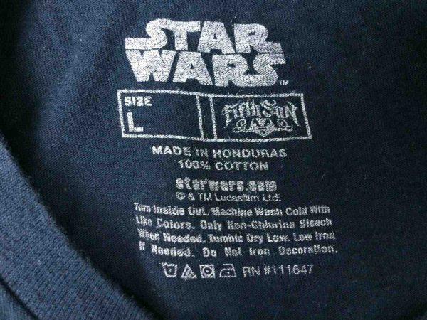 STAR WARS T Shirt Class of 1977 Official Gabba Vintage 1 - STAR WARS T-Shirt Class of 1977 Official