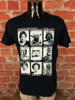 STAR WARS T-Shirt Class of 1977 Official - Gabba Vintage (2)