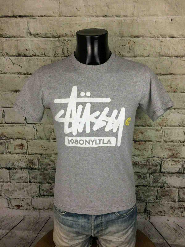 STUSSY T-Shirt 1980 Retro Vintage Old Logo - Gabba Vintage