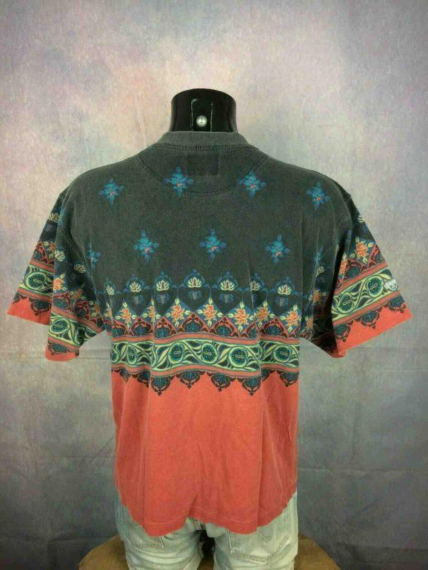 SUN VALLEY T Shirt Vintage 90s Design Rave Gabba Vintage 2 - SUN VALLEY T-Shirt Vintage Années 90s Tribal