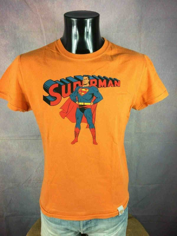 SUPERMAN T Shirt Made in Portugal Old School Gabba Vintage 2 - SUPERMAN T-Shirt Made in Portugal Old School