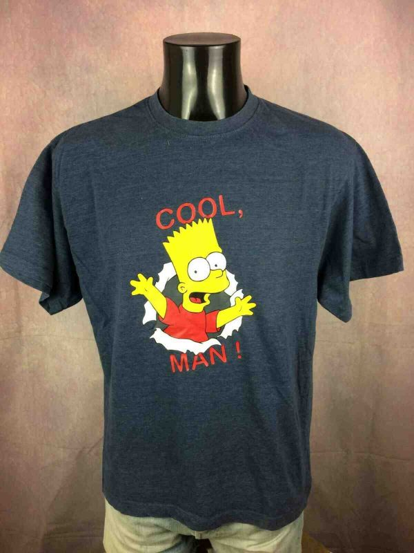 THE SIMPSONS T Shirt Cool Bart Vintage 2002 Gabba Vintage 2 - THE SIMPSONS T-Shirt Cool Bart Vintage 2002
