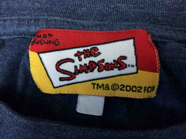THE SIMPSONS T Shirt Cool Bart Vintage 2002 Gabba Vintage 4 - THE SIMPSONS T-Shirt Cool Bart Vintage 2002