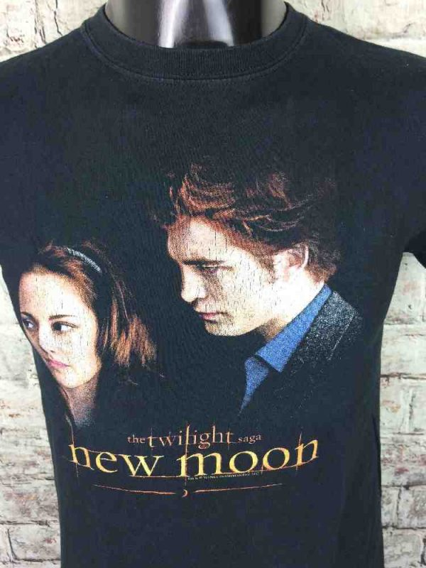 THE TWILIGHT SAGA T Shirt New Moon Official Gabba Vintage 3 - THE TWILIGHT SAGA T-Shirt New Moon Official