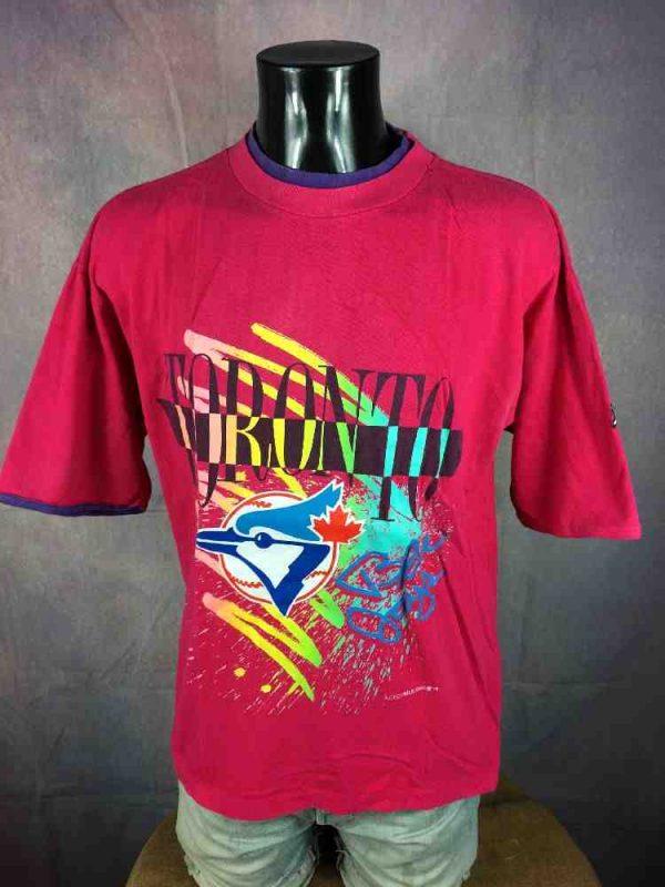 TORONTO BLUE JAYS T-Shirt Vintage 1990 MLB - Gabba Vintage (2)