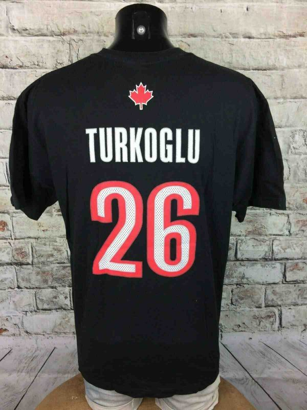 TORONTO RAPTORS T Shirt Adidas Turkoglu 26 Gabba Vintage 1 - TORONTO RAPTORS T-Shirt Adidas Turkoglu #26