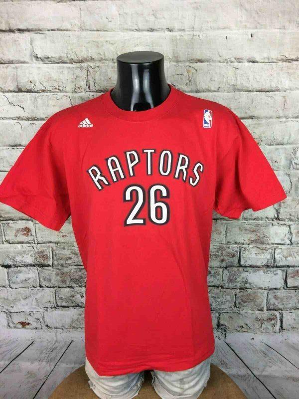 TORONTO RAPTORS T-Shirt Adidas Turkoglu NBA - Gabba Vintage (1)