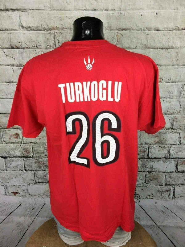 TORONTO RAPTORS T Shirt Adidas Turkoglu NBA Gabba Vintage 2 - TORONTO RAPTORS T-Shirt Adidas Turkoglu NBA