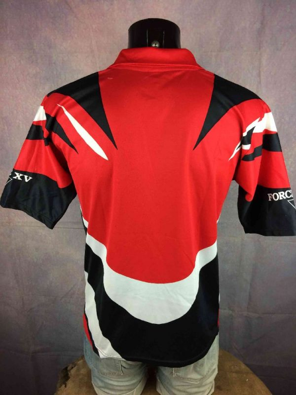 TOULON Racing Club Maillot 2000 Vintage Rugby Gabba.. 1 - TOULON RCT Maillot 2000 2001 Vintage Rugby