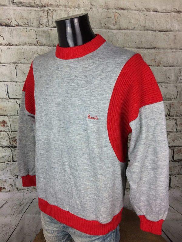 TREVOIS SweatShirt Vintage 90s Unisex Sport Gabba Vintage 3 - TREVOIS SweatShirt Vintage 90s Unisex Sport