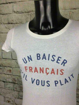 UN BAISER FRANÇAIS S'IL VOUS PLAIT T-Shirt - Gabba Vintage (2)