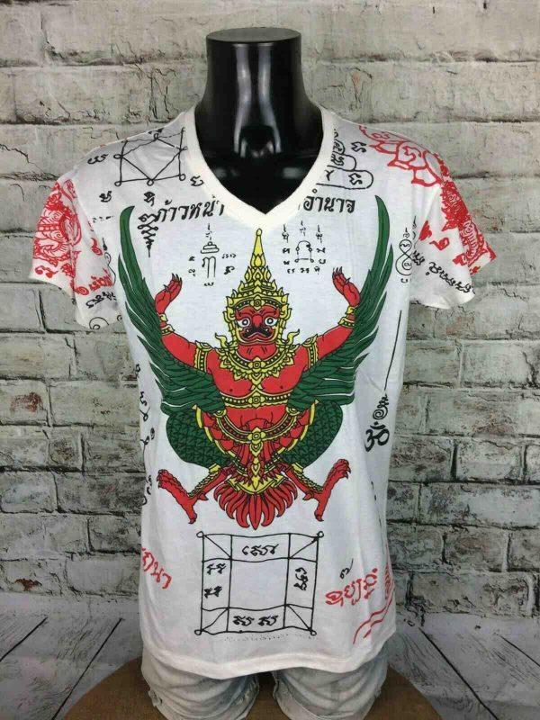 WORK T-Shirt Thai Tattoo Made in Thailand - Gabba Vintage (1)