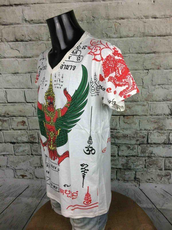 WORK T Shirt Thai Tattoo Made in Thailand Gabba Vintage 2 - WORK T-Shirt Thai Tattoo Made in Thailand