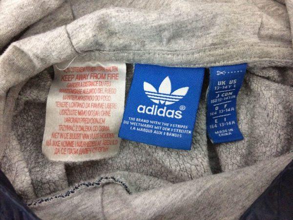 ADIDAS SweatShirt Hood Capuche Big Trefoil Fluo Neon Training Warm Up 3 Stripes Unisex Sweater