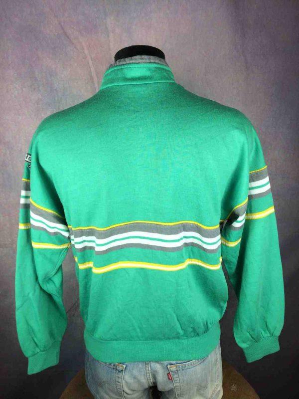 ADIDAS Sweatshirt Made in France Vintage 80s Gabba Vintage 6 - ADIDAS Sweatshirt Made in France Vintage 80s