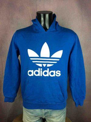 ADIDAS Sweatshirt Originals Big Logo Y2K - Gabba Vintage