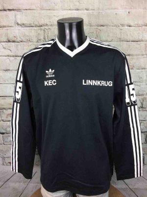 ADIDAS T-Shirt Trefoil Linnkrug KEC #15 1982 - Gabba Vintage